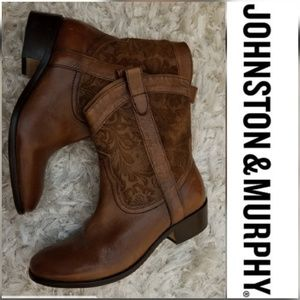 Johnston & Murphy Cowboy Ankle Boots